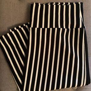 LuLaRoe Cassie Skirt-Black/White